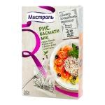 Рис Мистраль Басмати mix, белый ароматный/дикий, 8шт х 62.5г