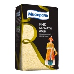 Рис Мистраль Басмати gold, пропаренный ароматный, 500г
