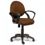 Кресло офисное Chairman 682 ткань, JP, крестовина пластик, коричневое