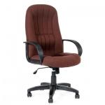 Кресло руководителя Chairman 685 ткань, TW, крестовина пластик, коричневое