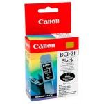 Картридж струйный Canon BCI-21BK, черный