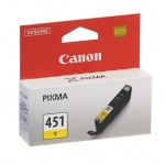 Картридж струйный Canon, желтый