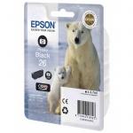 Картридж струйный Epson C13 T2601/11/12/13/14/15 4010, черный фото