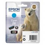Картридж струйный Epson C13 T2601/11/12/13/14/15 4010, голубой