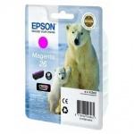 Картридж струйный Epson C13 T2601/11/12/13/14/15 4010, пурпурный