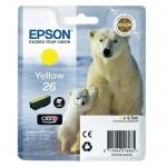 Картридж струйный Epson C13 T2601/11/12/13/14/15 4010, желтый