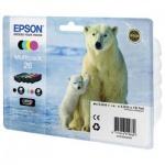Картридж струйный Epson C13 T2601/11/12/13/14/15 4010, 4 цвета