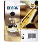 Картридж струйный Epson C13 T1621 4010, черный
