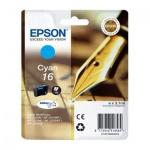 Картридж струйный Epson C13 T1622 4010, голубой