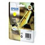 Картридж струйный Epson C13 T1624 4010, желтый