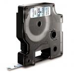 Картридж для принтера этикеток Dymo S0720770 D1, 6мм х 7м, прозрачный с черными буквами, пластик