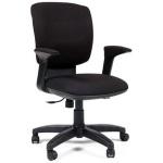 Кресло офисное Chairman 810 ткань, черная, крестовина пластик, черное