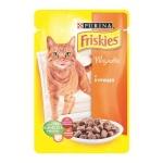 Влажный корм для кошек Friskies, 100г, курица