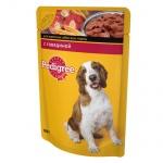 Влажный корм для собак Pedigree, 100г, говядина