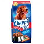 Сухой корм для собак Chappi Сытный Мясной обед с говядиной, 15кг