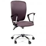 Кресло офисное Chairman 9801 ткань, крестовина хром