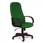 Кресло руководителя Chairman 279 ткань, TW, крестовина пластик, зеленый