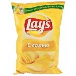 Чипсы Lays, 150г, Натуральная соль