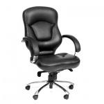 Кресло руководителя Chairman 430 нат. кожа, крестовина хром, Кожа Eichel