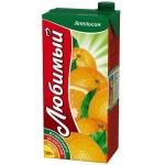 Сок Любимый Сад апельсин, 0.95л х 4шт