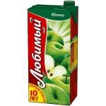Сок Любимый, 0.95л х 4шт, яблоко