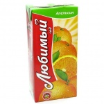 Сок Любимый, 1.93л, апельсин