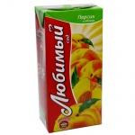 Сок Любимый Сад яблоко-персик, 1.93л