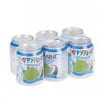 Сокосодержащий напиток Fruiting, без газа, 0.238л х 6шт, ж/б, виноград кокос
