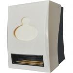 Диспенсер для салфеток и зубочист Вхg PD-8897, белый