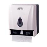 Диспенсер для рулонных и листовых бумажных полотенец Bxg PDM-8218, белый