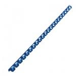 Пружины для переплета пластиковые Fellowes, на 40-70 листов, 10мм, 100шт, кольцо, синие