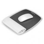 Коврик для мыши Fellowes I-Spire бело-серый, с силиконовой подкладкой