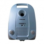 Пылесос с мешком Samsung SC4140 1600Вт, голубой