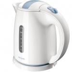 Чайник электрический Philips HD 4646 белый/голубой, 1.5 л, 2400 Вт