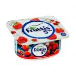 Йогурт Fruttis Сливочное лакомство, 5%, 115г, клубника/земляника