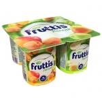 Йогурт Fruttis Легкий абрикос-манго-яблоко-груша, 0.1%, 110 г
