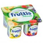 Йогурт Fruttis Легкий ананас-дыня-лесные ягоды, 0.1%, 110 г