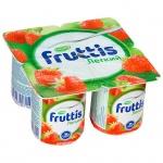 Йогурт Fruttis Легкий клубника, 0.1%, 110 г