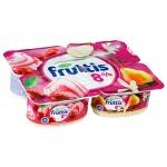 Йогурт Fruttis Суперэкстра груша-ваниль-вишневый пломбир, 8%, 115г