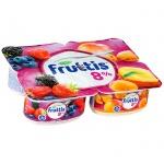 Йогурт Fruttis Суперэкстра, 8%, 115г, лесные ягоды, абрикос, манго