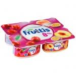 Йогурт Fruttis Суперэкстра вишня-персик-маракуйя, 8%, 115г