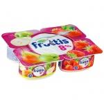 Йогурт Fruttis Суперэкстра яблоко-груша-клубника, 8%, 115г