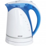 Чайник электрический Mystery MEK-1616 голубой, 1.7 л, 1850Вт