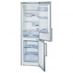 Холодильник двухкамерный Bosch KGS39XL20R 352 л, серебристый, 200х60х65 см