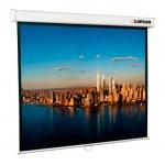 Экран для проектора настенный Lumien 141х220см, ручной