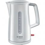 Чайник электрический Bosch Compact Class TWK3A011 белый, 1.7 л, 2400 Вт