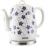 Чайник электрический Gorenje K10C белый, 1л, 1850Вт