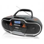 Магнитола Bbk BX518UС серебристо-черная, CD/ USB/ кассеты
