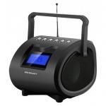 Магнитола Rolsen RBM412BR черная, MP3/FM(an)/USB/SD/microSD