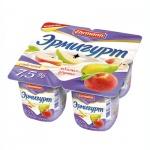 Йогурт Эрмигурт Сливочный, 7.5%, 4х115г, яблоко/груша
